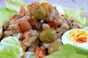 Empedrat, salade de legumineuses catalane slider