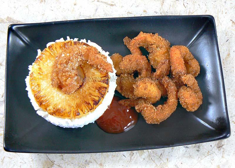 Beignets de crevettes a la noix de coco ou poudre d'amandes fin2
