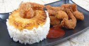 Beignets de crevettes à la noix de coco ou poudre d'amandes