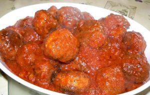 Boulettes en sauce tomate italienne fin