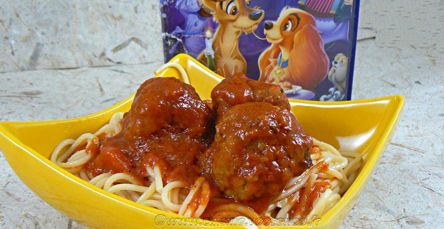 Boulettes en sauce tomate italienne slider