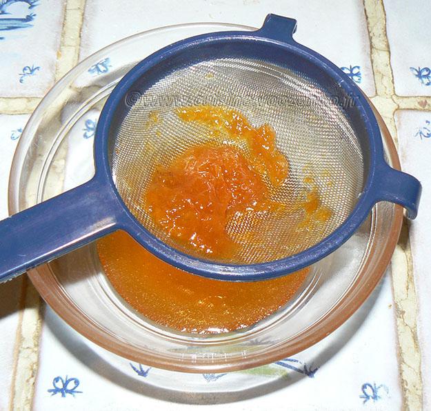 Tarte aux noix et caramel, glaçage à l'abricot étape6