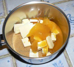 Tarte aux noix et caramel, glaçage à l'abricot étape8