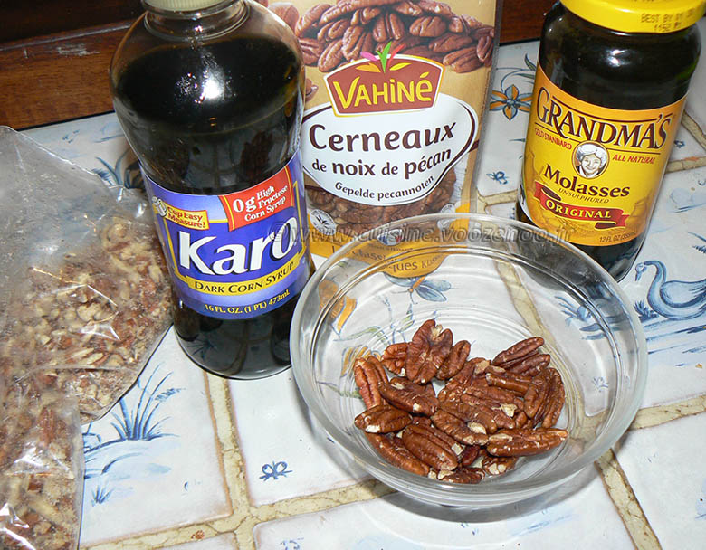 Pecan pie : Tarte aux noix de pecan americaine etape2
