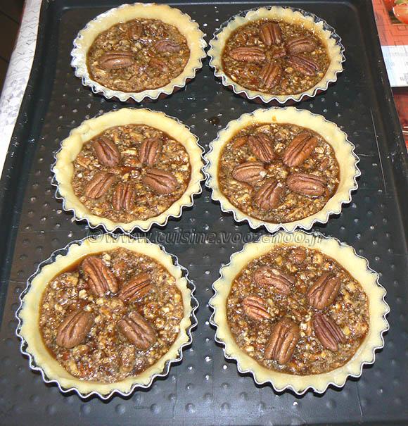 Pecan pie : Tarte aux noix de pecan americaine etape7