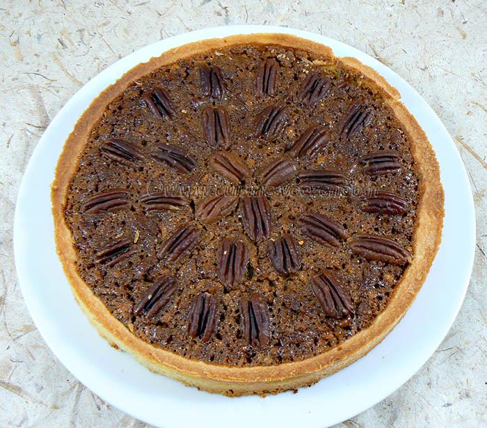 Pecan pie : Tarte aux noix de pecan americaine fin2