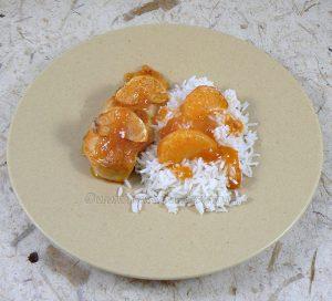 Blancs de poulet, sauce aux agrumes fin2