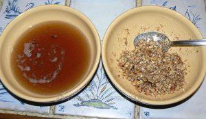 Tufahija - pommes fourrées aux noix etape2