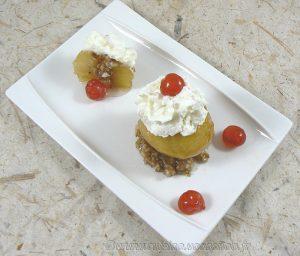 Tufahija - pommes fourrées aux noix fin