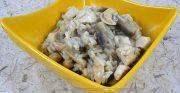 Risotto au poulet, champignons et noix de cajou