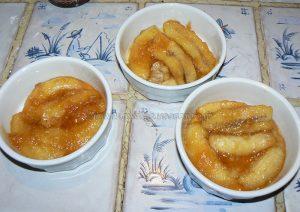 Bananes meringuées en ramequin etape1