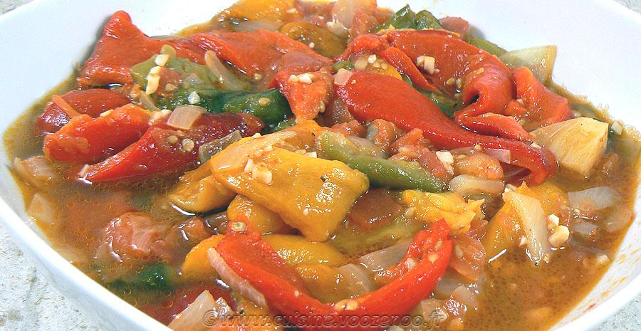 Salade de poivrons à l'algéroise slider