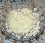 Crêpes au robiola, thym et jambon de parme etape3