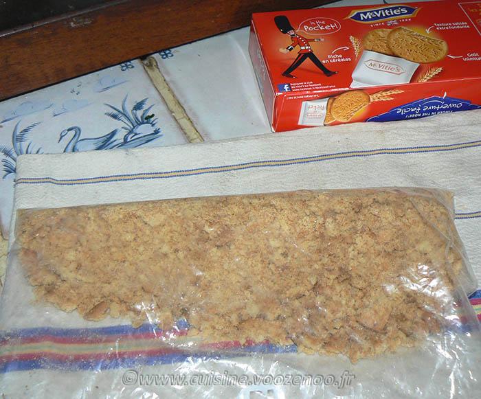 Cheesecake crémeux à l'églantine (sans cuisson) etape1