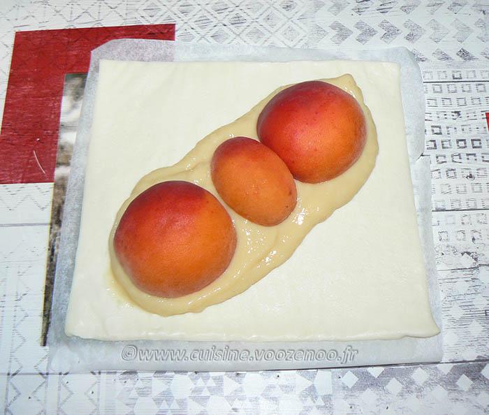 Oranais aux abricots etape2