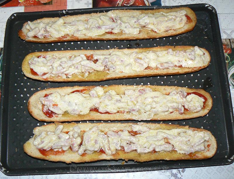 Zapiekanka, le sandwich Polonais etape 4