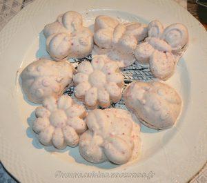 Semifreddo aux fraises et spéculoos fin