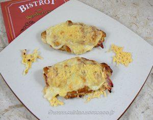 Croissants au jambon et béchamel fin