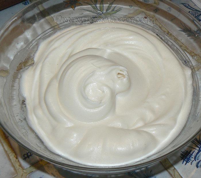 Mousse au chocolat au lait et crème de soja etape3