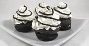 Cupcakes à la réglisse – Noir et Blanc
