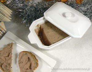 Mousse de foies de volaille à l'Armagnac fin