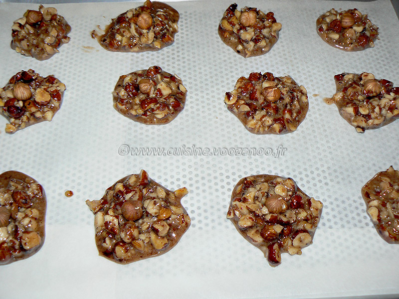 Macarons à la noisette de C. Felder etape5