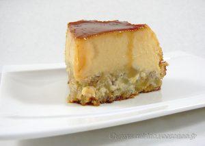 Flan aux pommes, amandes et Calvados fin3