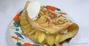 Farz Pitilig aux pommes caramélisées et chantilly