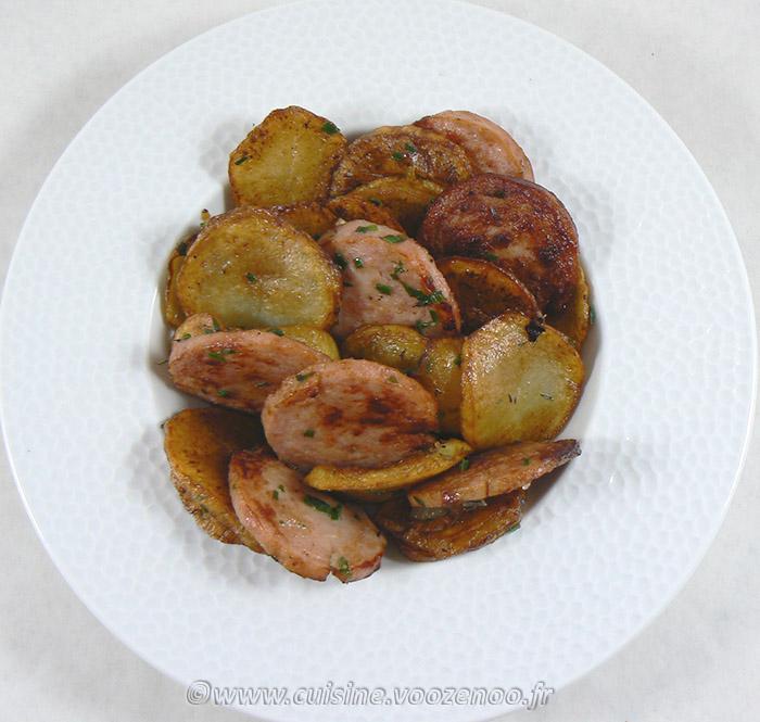 Pommes de terre sautées au saucisson à l'ail fin2