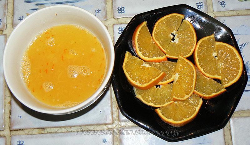Escalopes de dinde au miel, citron et orange etape1