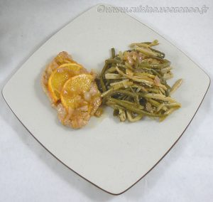 Escalopes de dinde au miel, citron et orange fin2