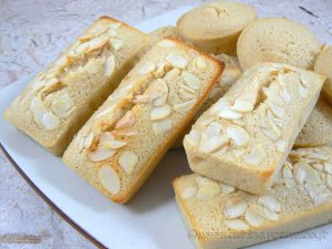 Financiers citron-amandes presentation
