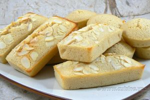 Financiers citron-amandes