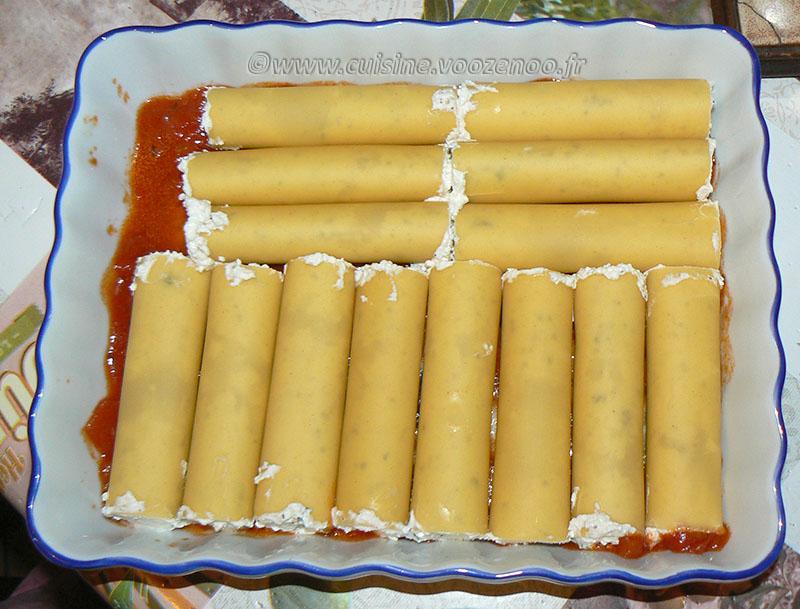 Cannellonis au brocciu etape3