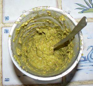 Noix de St Jacques , crème de petits pois sur tuile à la coriandre etape6
