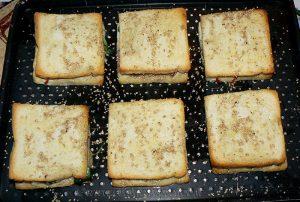 Club sandwich au Rocamadour fin