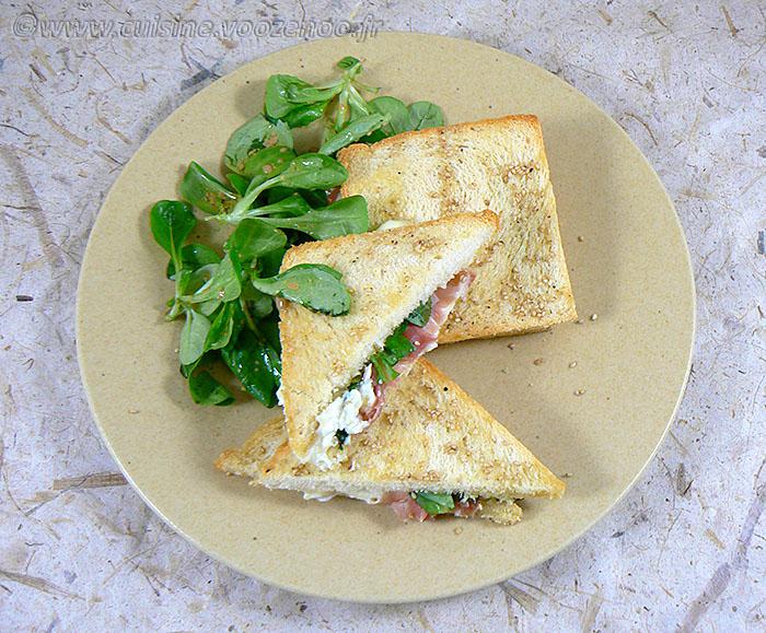 Club sandwich au Rocamadour fin2