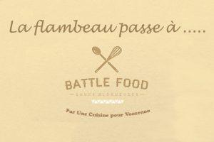 Battle Food#62 - La relève est assurée par ...
