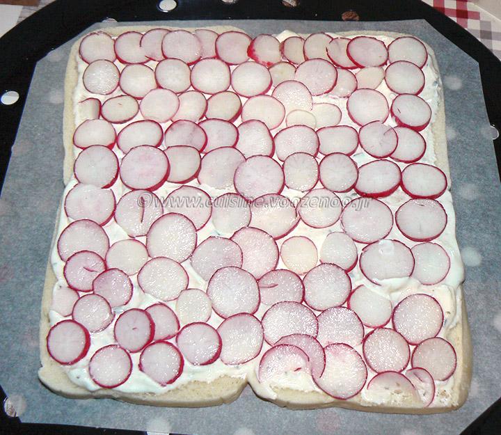 Sandwich cake au fromage blanc frais de Corrèze etape2