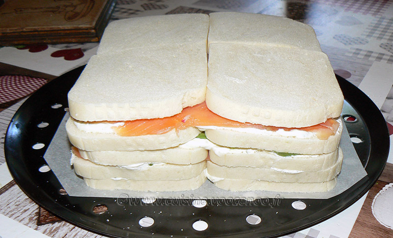 Sandwich cake au fromage blanc frais de Corrèze etape4