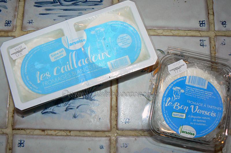 Sandwich cake au fromage blanc frais de Corrèze etape5