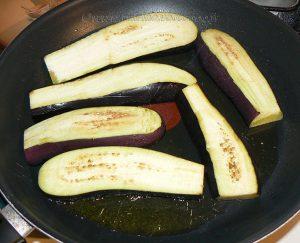 Aubergines confites à la sauce Teriyaki etape1