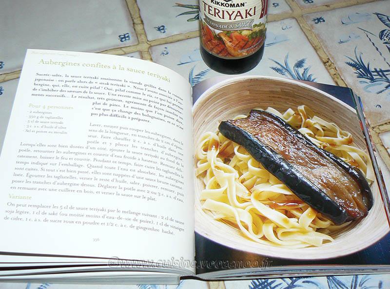 Aubergines confites à la sauce Teriyaki etape2