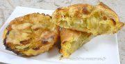Paniers-Tartelettes feuilletés aux courgettes