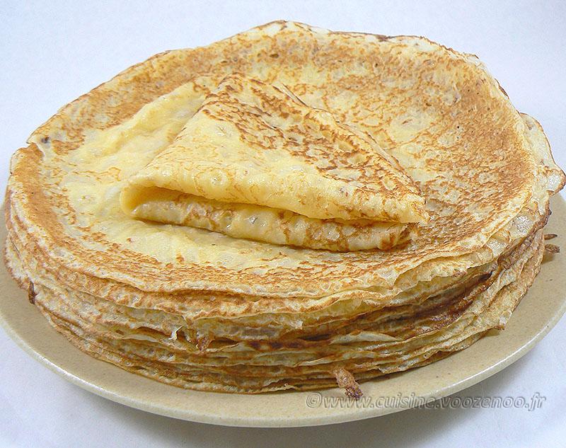 Pâte à crêpe allégée à la Maïzena® fin