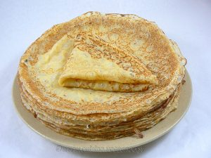 Pâte à crêpe allégée à la Maïzena® presentation