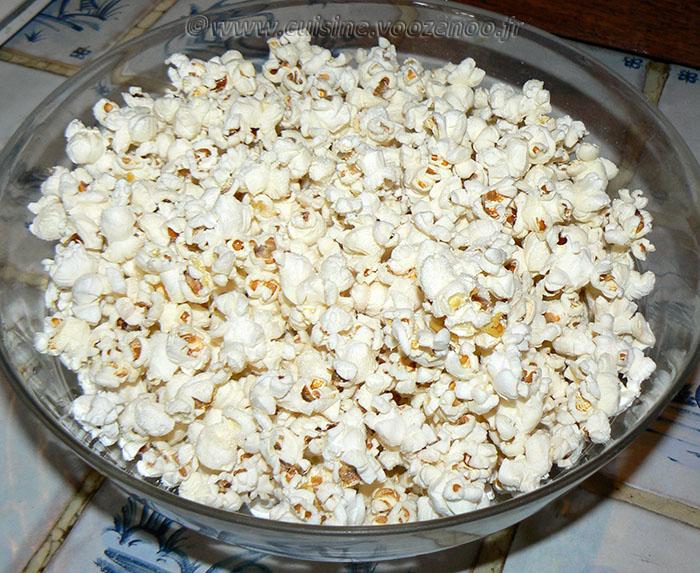 Milkshake vanille et pop-corn etape1