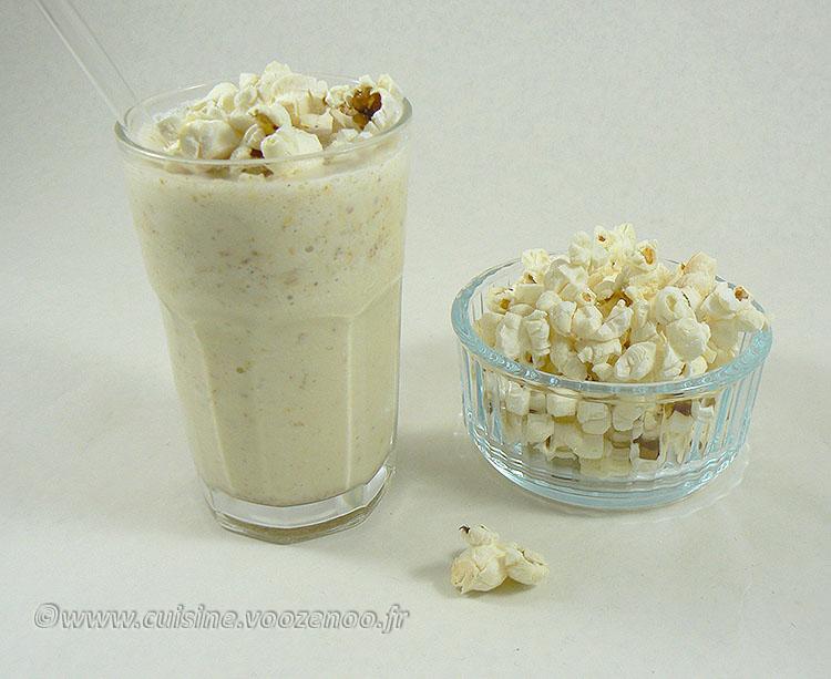 Milkshake vanille et pop-corn fin2
