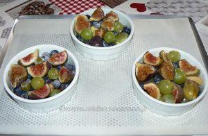 Crumble aux figues et raisins mais pas que ! etape1