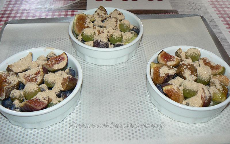 Crumble aux figues et raisins mais pas que ! etape2